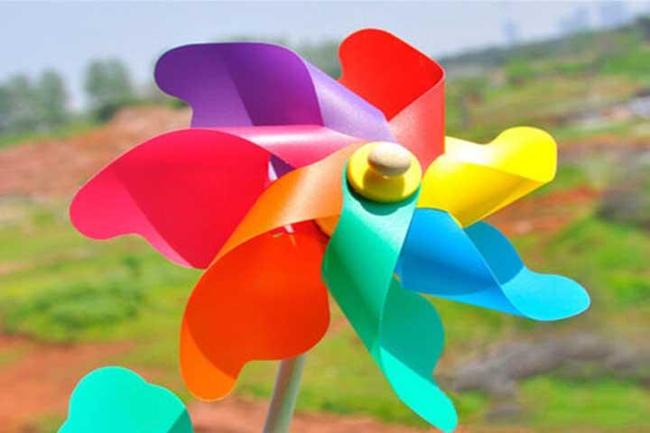 Make A Wind Spinner