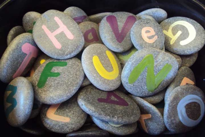 Sensory Booster: The Pebbles Activity