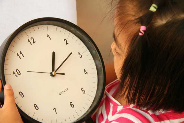Your Child Can Comprehend Time Concepts Much Better Now