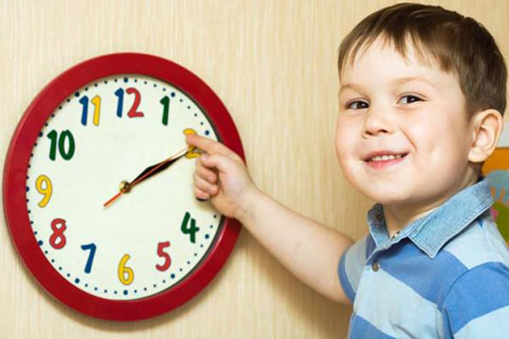 Your Child Can Now Understand The Movement Of Time