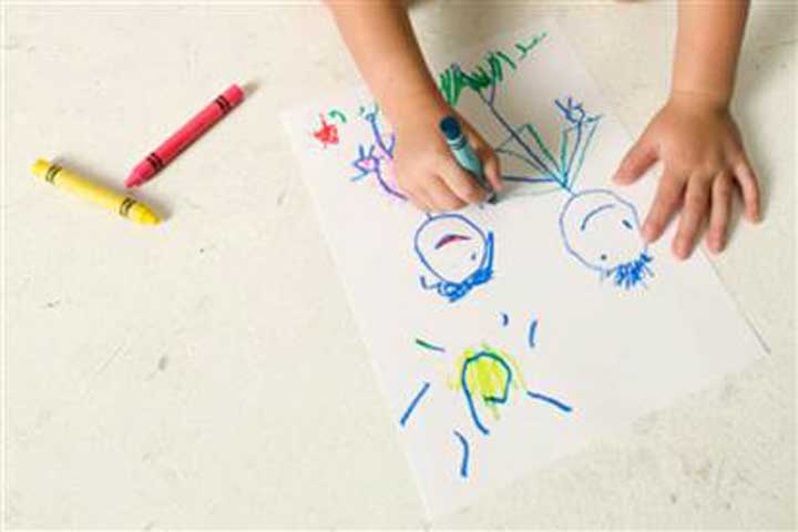 Your Child Can Write As Well As Draw In A Controlled Manner Now