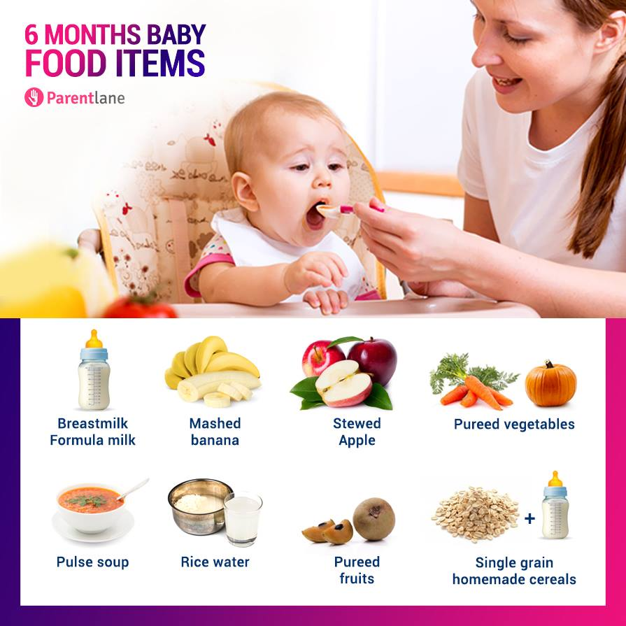 Month Old Baby Food Recipes