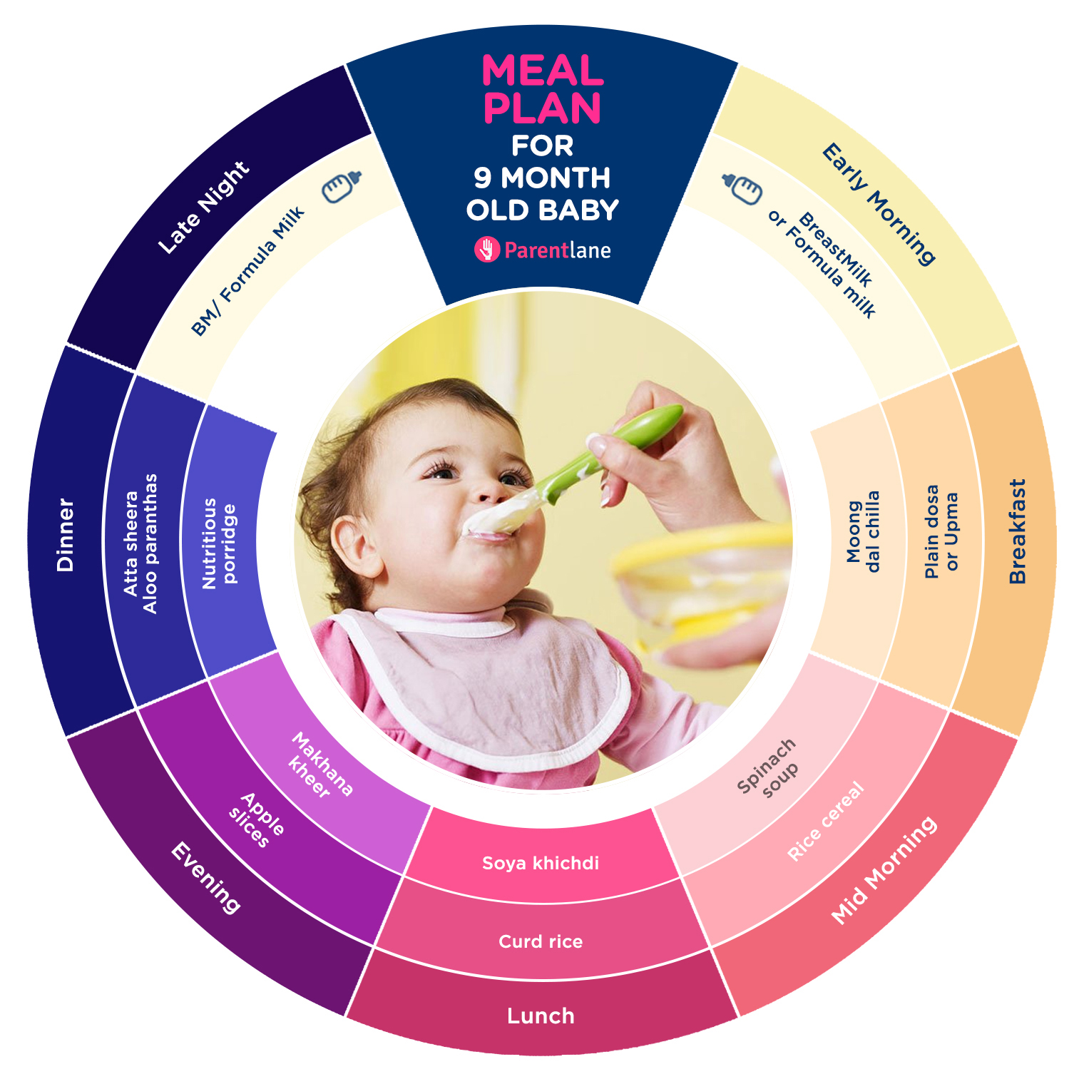 indian baby food chart for 9 months old baby