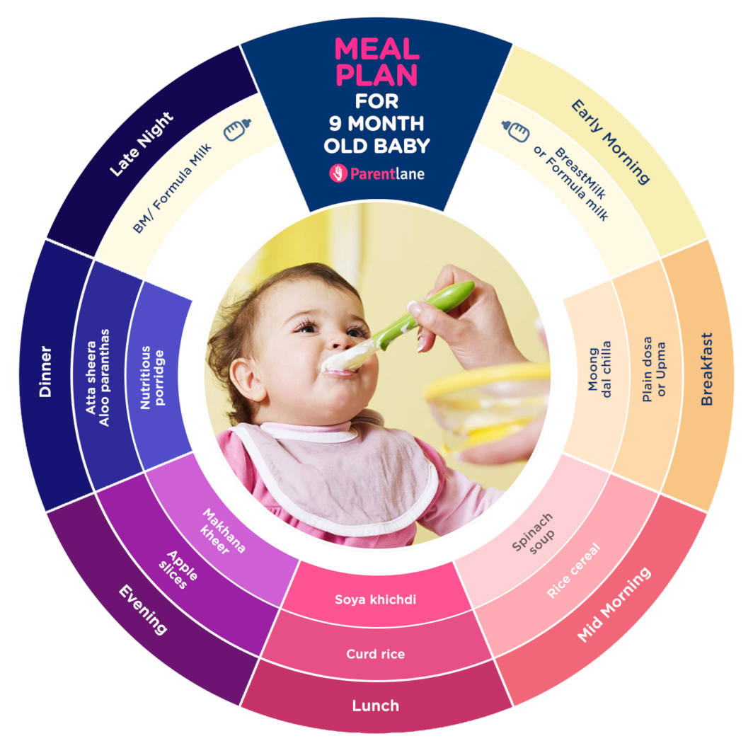 Indian Baby Food Chart for 9-Months-Old-Baby